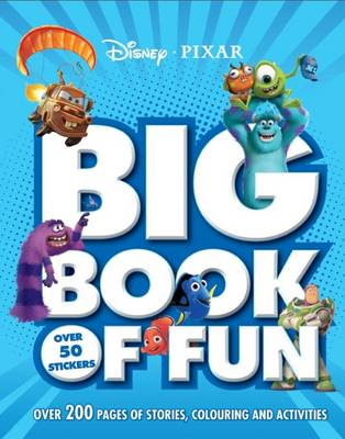 Disney Pixar Big Book of Fun (Paperback)