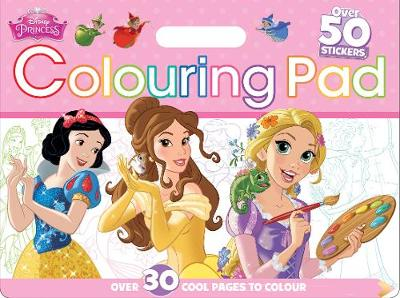 Disney Princess Colouring Pad: Over 30 Cool Pages to Colour (Paperback)
