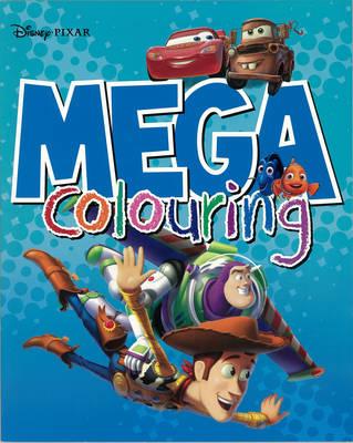 Disney Pixar Mega Colouring (Paperback)
