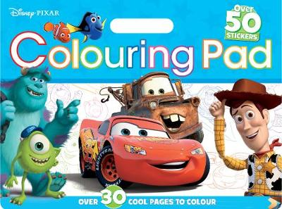 Disney Pixar Colouring Pad: Over 30 awesome pages to colour. (Paperback)
