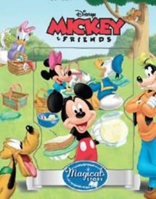 Disney Mickey Mouse with Lenticular (Hardback)