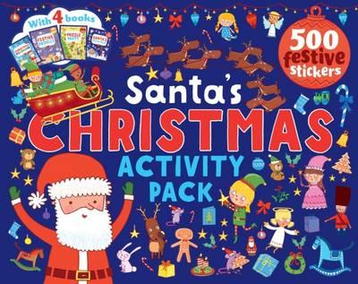 Santa's Christmas Activity Pack (Paperback)
