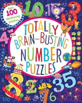 Totally Brain-Busting Number Puzzles (Paperback)