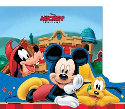 Disney Mickey My Storybook Library (Hardback)