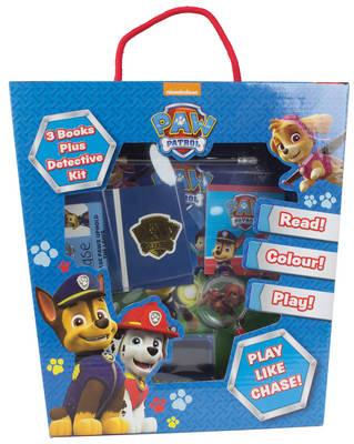 Nickelodeon PAW Patrol: 3 Books Plus Detective Kit - Jumbo Fun Box