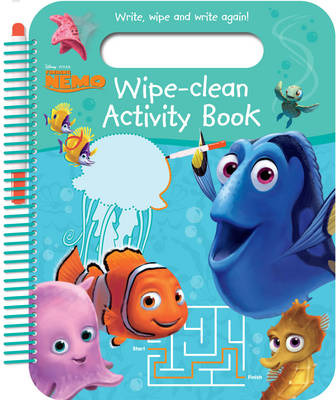 Disney Pixar Finding Nemo Wipe-Clean Activity Book: Write, Wipe and Write Again!