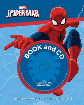 Marvel Spider-Man Book and CD