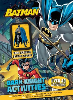 Batman Dark Knight Activities with Awesome Batman Magnet