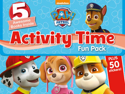 Nickelodeon PAW Patrol Activity Time Fun Pack: 5 Awesome Books Inside