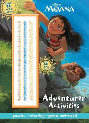 Disney Moana Adventurer Activities with 10 Tribal Tattoos