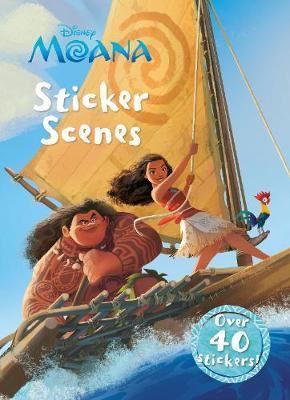 Disney Moana Sticker Scenes: Over 40 Stickers! - Sticker Scenes (Paperback)