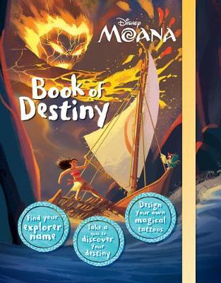Disney Moana Book of Destiny (Hardback)