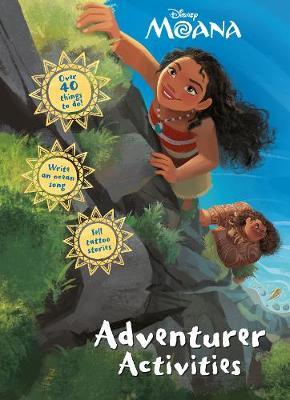 Disney Moana Adventurer Activities (Paperback)