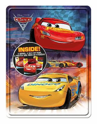 Disney Pixar Cars 3 Happy Tin - Happy Tin