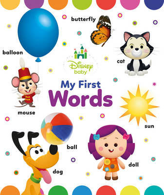 Disney Baby My First Words (Board book)