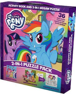 My Little Pony 2-in-1 Puzzle Pack: Activity Book and 2-in-1 Jigsaw Puzzle
