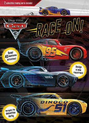 Disney Pixar Cars 3 Race On!: 2 Collectible Trading Cards Included (Paperback)