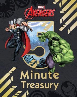Marvel Avengers 5-Minute Treasury (Hardback)