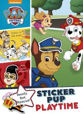 Nickelodeon PAW Patrol Sticker Pup Playtime (Paperback)