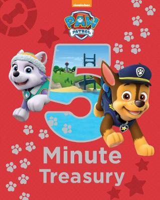 Nickelodeon PAW Patrol 5-Minute Treasury (Hardback)