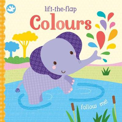 Little Learners Colours: Lift-the-Flap (Board book)
