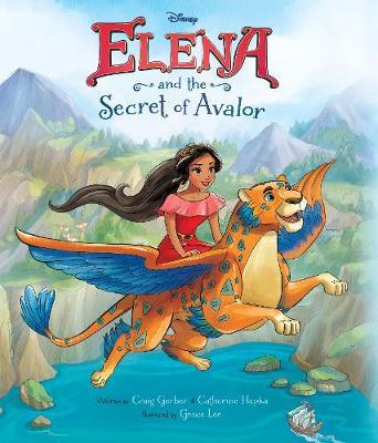 Disney Elena of Avalor Elena and the Secret of Avalor (Paperback)