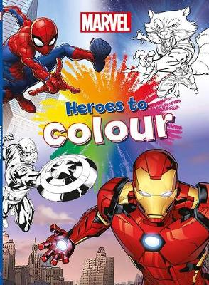 Marvel Heroes to Colour (Paperback)