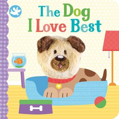 Little Learners The Dog I Love Best Finger Puppet Book (Board book)