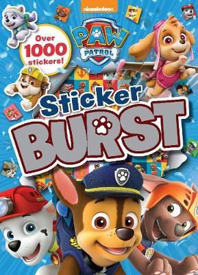 Nickelodeon PAW Patrol Sticker Burst (Paperback)