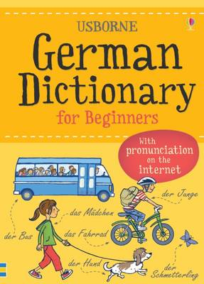 German Dictionary for Beginners - Beginner's Dictionary (Paperback)