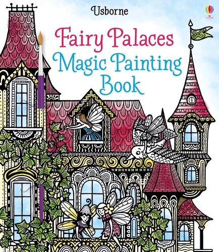 Fairy Palaces Magic Painting Book - Magic Painting Books (Paperback)