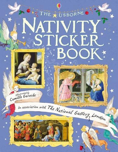 Nativity Sticker Book - Sticker Books (Paperback)