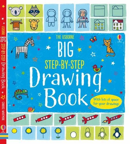 Big Step-by-step Drawing Book - Step-by-Step Drawing Book (Paperback)