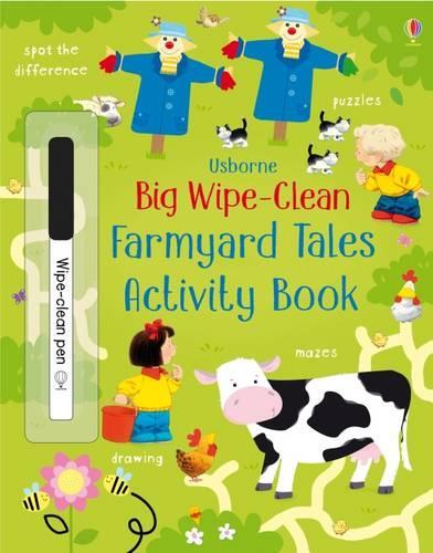 Big Wipe Clean Farmyard Tales Activities Book - Wipe-clean Books (Paperback)