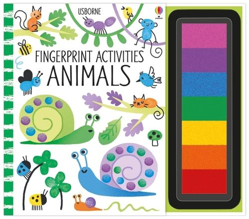 Fingerprint Activities Animals - Fingerprint Activities (Spiral bound)