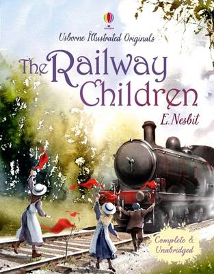 Cover of the book, The Railway Children.