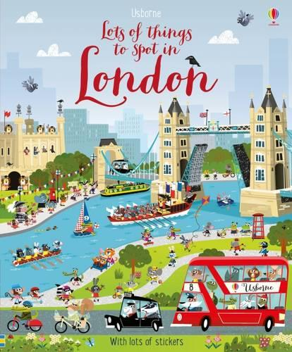 Lots of Things to Spot in London - Young Searches (Paperback)