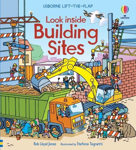 Look Inside a Building Site - Look Inside Board Books (Board book)