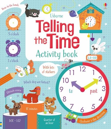 Telling the Time Activity Book - Maths Activity Books (Paperback)
