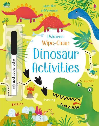 Wipe-Clean Dinosaur Activities - Wipe-clean Activities (Paperback)