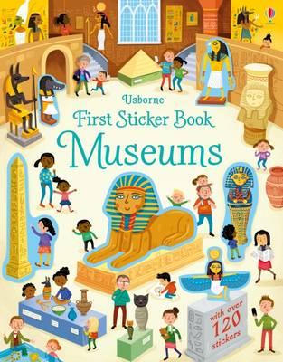 First Sticker Book Museums - First Sticker Books series (Paperback)