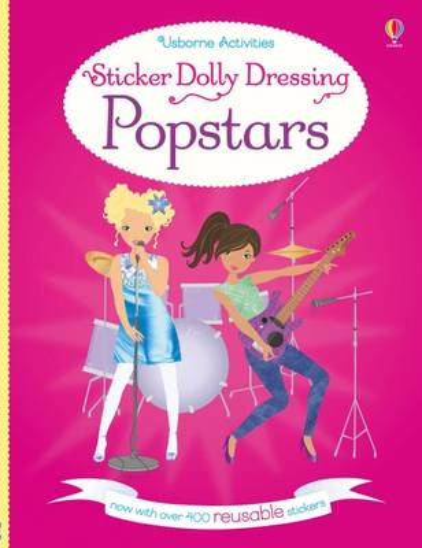 Sticker Dolly Dressing Popstars - Sticker Dolly Dressing (Paperback)