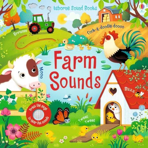 Farm Sounds - Noisy Books (Board book)