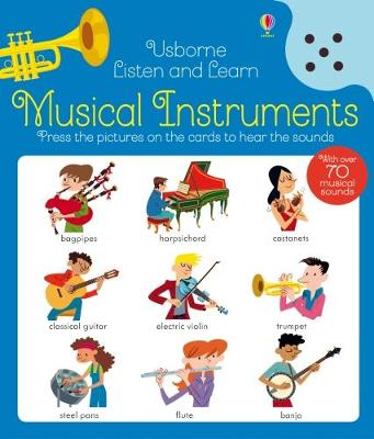 Musical Instruments - Listen and Learn (Hardback)