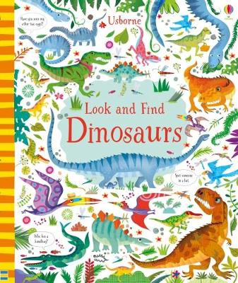 Look and Find Dinosaurs - Look and Find (Hardback)