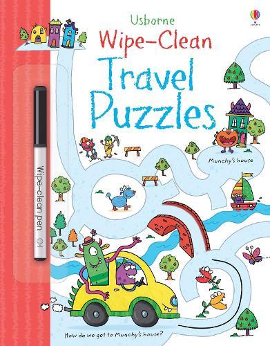 Wipe-clean Travel Puzzles - Wipe-Clean (Paperback)