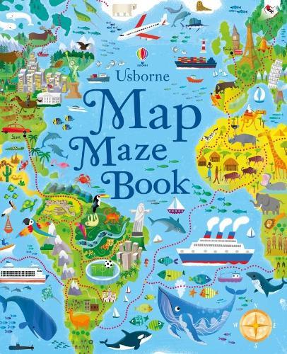 Maps by aleksandra mizielinska daniel mizielinski waterstones map mazes gumiabroncs Gallery