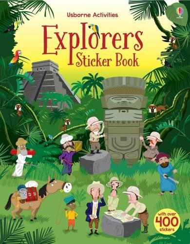 Explorers Sticker Book (Paperback)