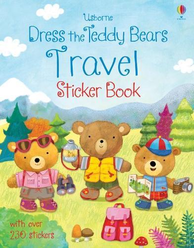 Dress the Teddy Bears Travel Sticker Book - Dress the Teddy Bears (Paperback)