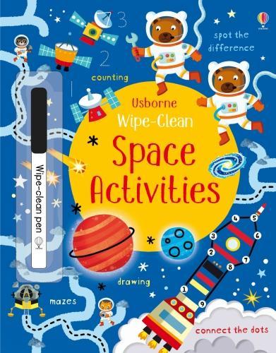 Wipe-Clean Space Activities - Wipe-Clean Activities (Paperback)